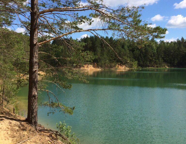 Голубі (блакитні) озера