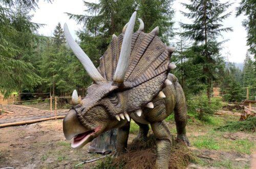 парк живих динозаврів