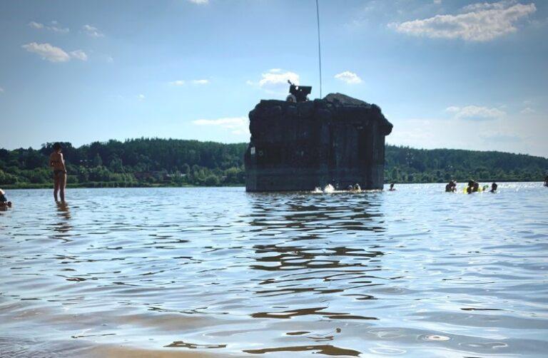 Озеро в Ходосівці